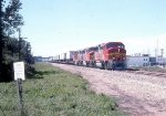 ATSF 121, 129, and 120